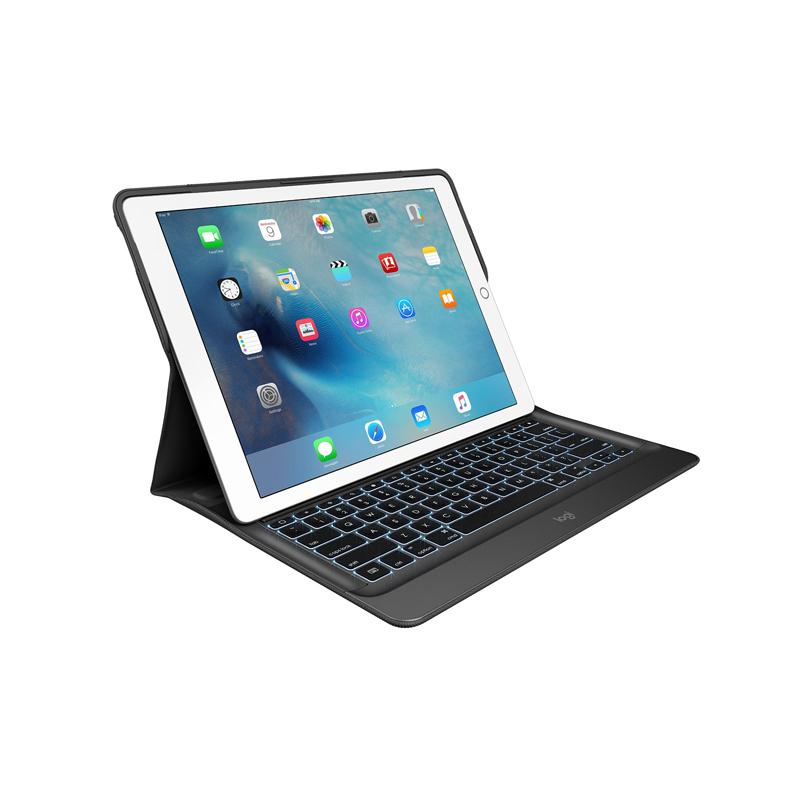 罗技(Logitech)CREATE iK1200背光键盘保护套 适用于iPad Pro