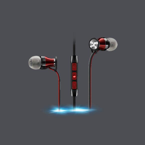MOMENTUM In-Ear i Black 苹果版