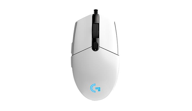 罗技 G102 Prodigy 游戏鼠标 白色