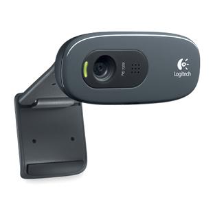 Logitech罗技 C270 (新包装)高清网络摄像头